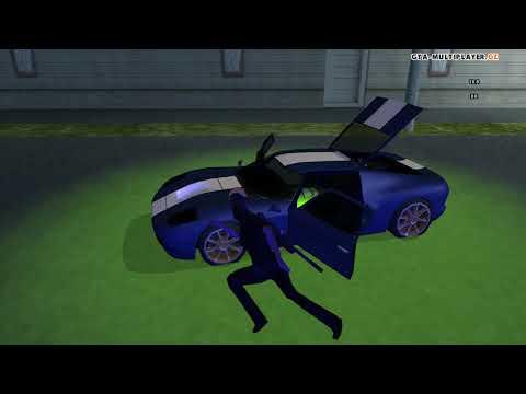 Dálkové ovládání auta na WTLS / GTA SAN ANDREAS MULTIPLAYER