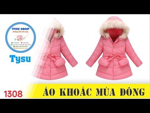 Hướng Dẫn Cắt May TysuShop Số 1308: áo Khoác Mùa đông
