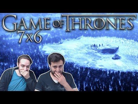 "Game of Thrones Season 7 Episode 6 REACTION ""Beyond the Wall"" (1/2)"
