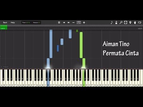 Aiman Tino - Permata Cinta Tutorial Cover (piano Instrumental)