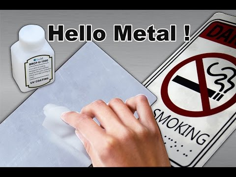 How to  print on metal directly-artisJet