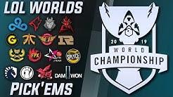 Worlds 2019 Pick'em Guide