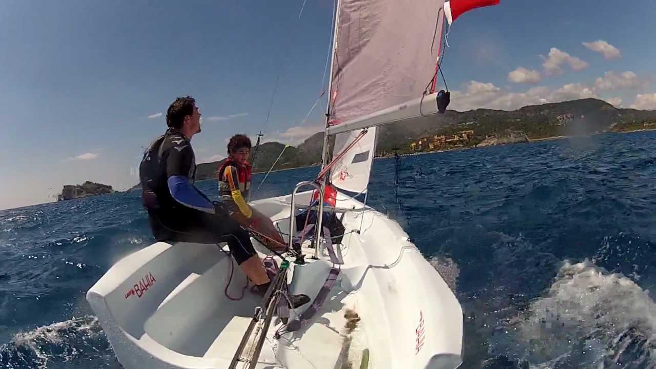 Sarigerme Laser Bahia Sailing Wind 04 Part 01 Youtube