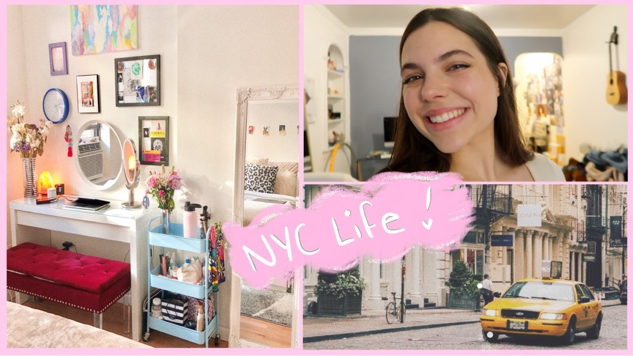 NYC DAY IN MY LIFE: getting new headshots, deep cleaning, mini NYC apartment tour