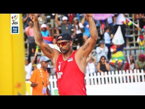 JIOI 2019 - Beach-Volley: «Nou la pou sa méday la» dit Gilbert Alfred