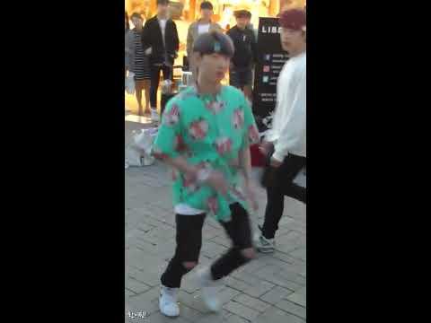 [찍캠/Fancam] 1704023 Liberty 리버티 홍대 7시 버스킹 - BTS 방탄소년단 Save Me Cover (환)