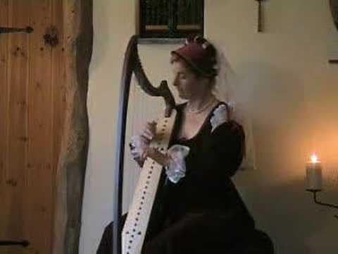 Medieval Music  C-13th  English Dance - Harp