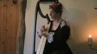 Medieval Music  C-13th  English Dance - Harp