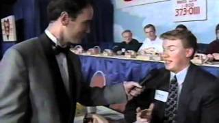 Variety Club of Iowa Telethon 1995 Keith Murphy and Tiny Tim