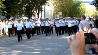 Видео парада оркестров в Севастополе 2014