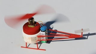 vuclip How to make a Helicopter - DC Motor Electric Helicopter - EASY!!