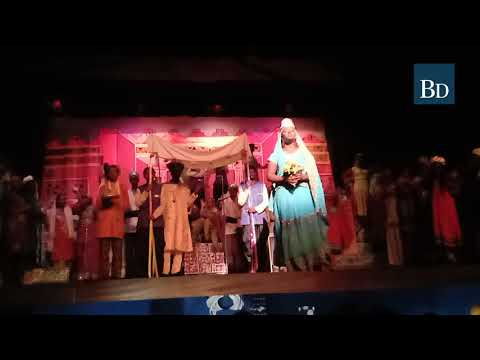 King Of Persia Weds Esther In Esther The Musical