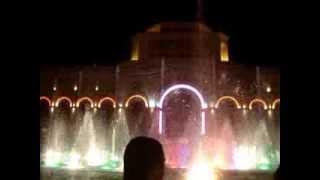 Поющие фонтаны в Ереване 12 авг. 2013 г.(, 2013-08-14T20:35:15.000Z)