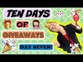 Ten Days of Giveaways: Day Seven || Sassysamey