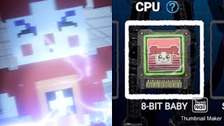 Defeating And Unlocking 8-bit Baby's Cpu