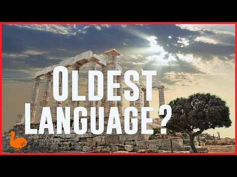 The Oldest Language