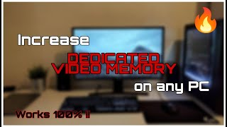 Video (New Method 2017)How to Increase Dedicated Video Memory On Any PC - Simple and Easy download MP3, 3GP, MP4, WEBM, AVI, FLV Desember 2017