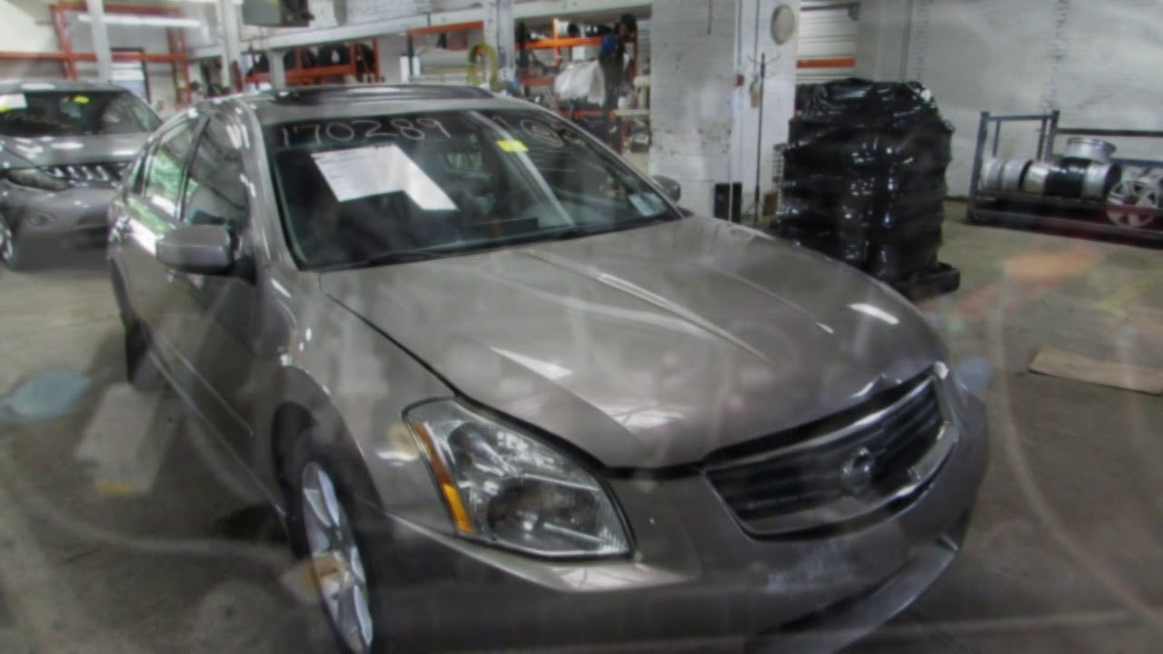 Parting out a 2008 Nissan Maxima - 170289 - Tom\'s Foreign Auto Parts ...
