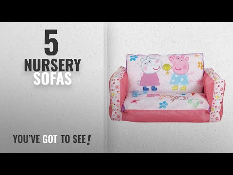 Top 10 Nursery Sofas [2018]: Peppa Pig Inflatable Kids Mini Sofa And Flip Out Lounger