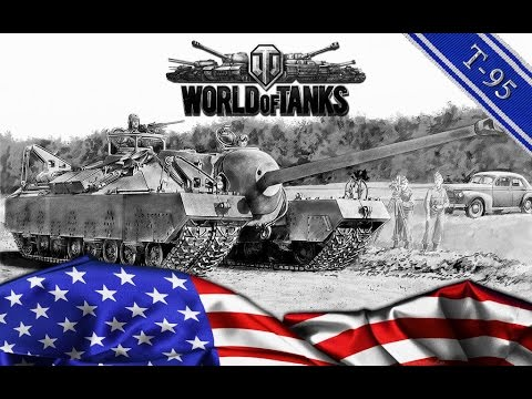 World of Tanks Blitz- T30/T95 Platoon with Clifford33