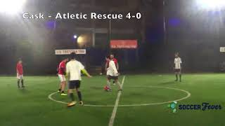 SOCCER LEAGUE C5 - SETTIMA GIORNATA - Cask vs Atletic Rescue