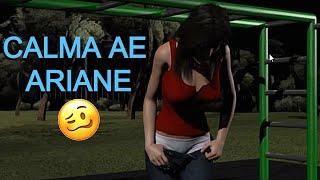 Jogando Date Ariane (Peguei ela 'o')