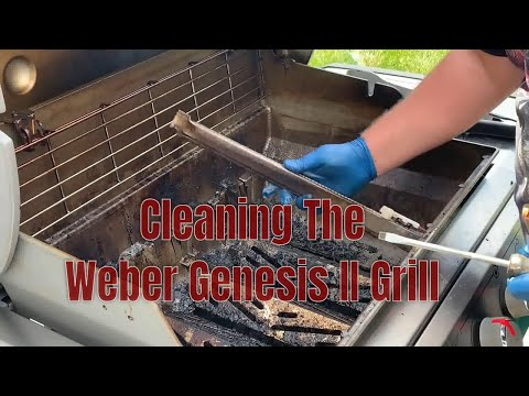 Cleaning the Weber Gas Genesis II Grill