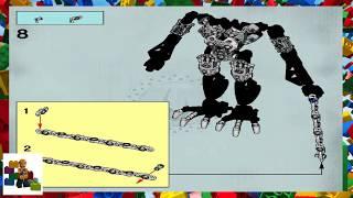 LEGO instructions - Bionicle - 8764 - Vezon & Fenrakk