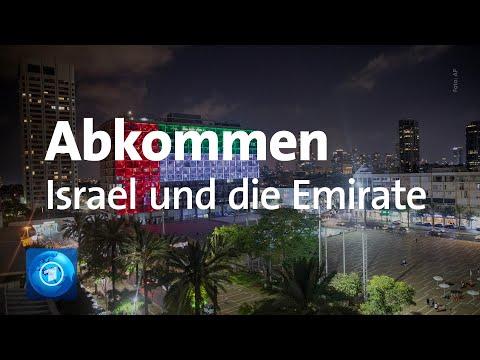 Kritik An Vereinbarungen Zwischen Israel Und Den Vereinigten Arabischen Emiraten