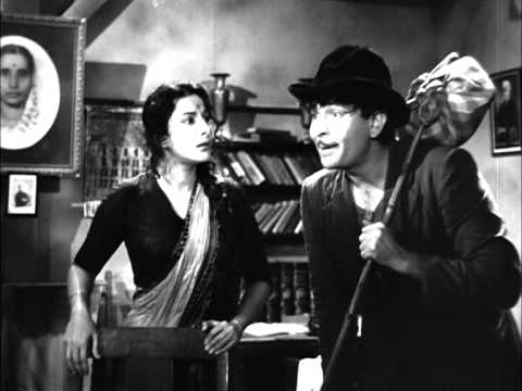 Raj Kapoor Lies To Nargis Dad - Shree 420 Most Viewed Scenes - Nargis