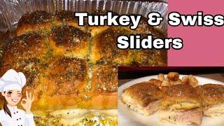 Turkey and Swiss Sliders Recipe | March 11, 2019