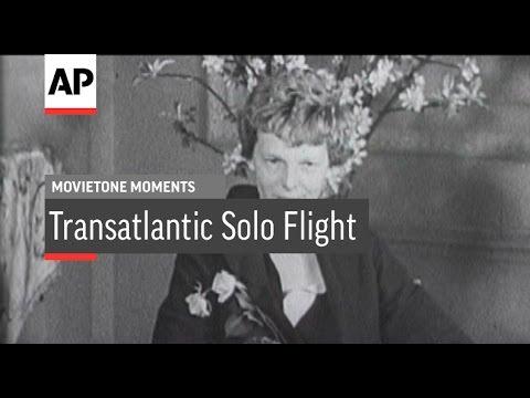 Amelia Earhart Tells Her Story | Movietone Moment | 20 May 16
