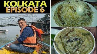 Kolkata food & Travel EP 6 | Floating market, Kolkata Biryani
