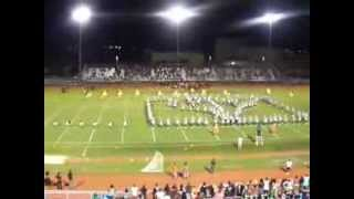 Blanche Ely High Marching Tiger 2013-2014 Half Time Show Part1