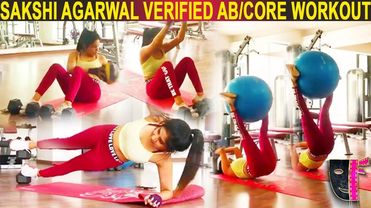 Sakshi Agarwal Verified💪🔥Ab/Core Workout💪🔥