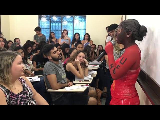 Trote VP. Camila Antunes | JORNALISMO | UFRJ, UFF e PUC