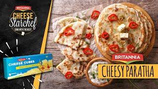 Cheese Paratha Recipe | Cooked By Saif Ali Khan | Chef Shipra Khanna | Britannia Cheese StarChef