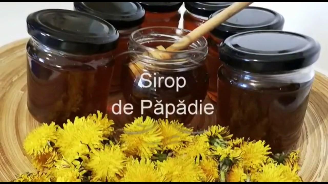 sirop din flori de papadie beneficii)