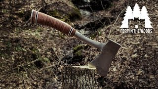 How to get your hatchet razor sharp!
