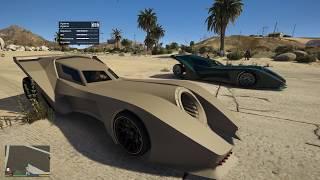 GTA 5 - Lấy xe Batmobile chạy Uber và đua xe ở sân bay nông thôn | ND Gaming