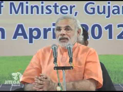 Narendra Modi's speech while inaugurating India's first 1MW Canal-top Solar Power Project