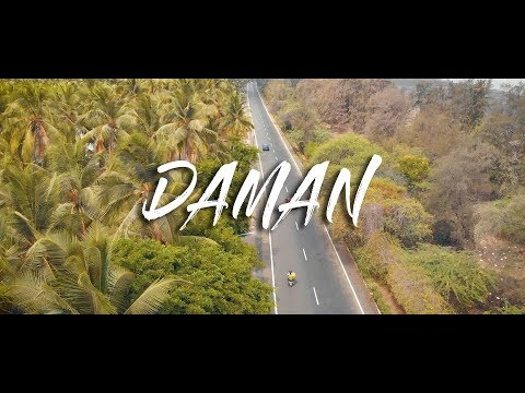 Road Trip Surat To Daman | Drone Shots Of Daman |