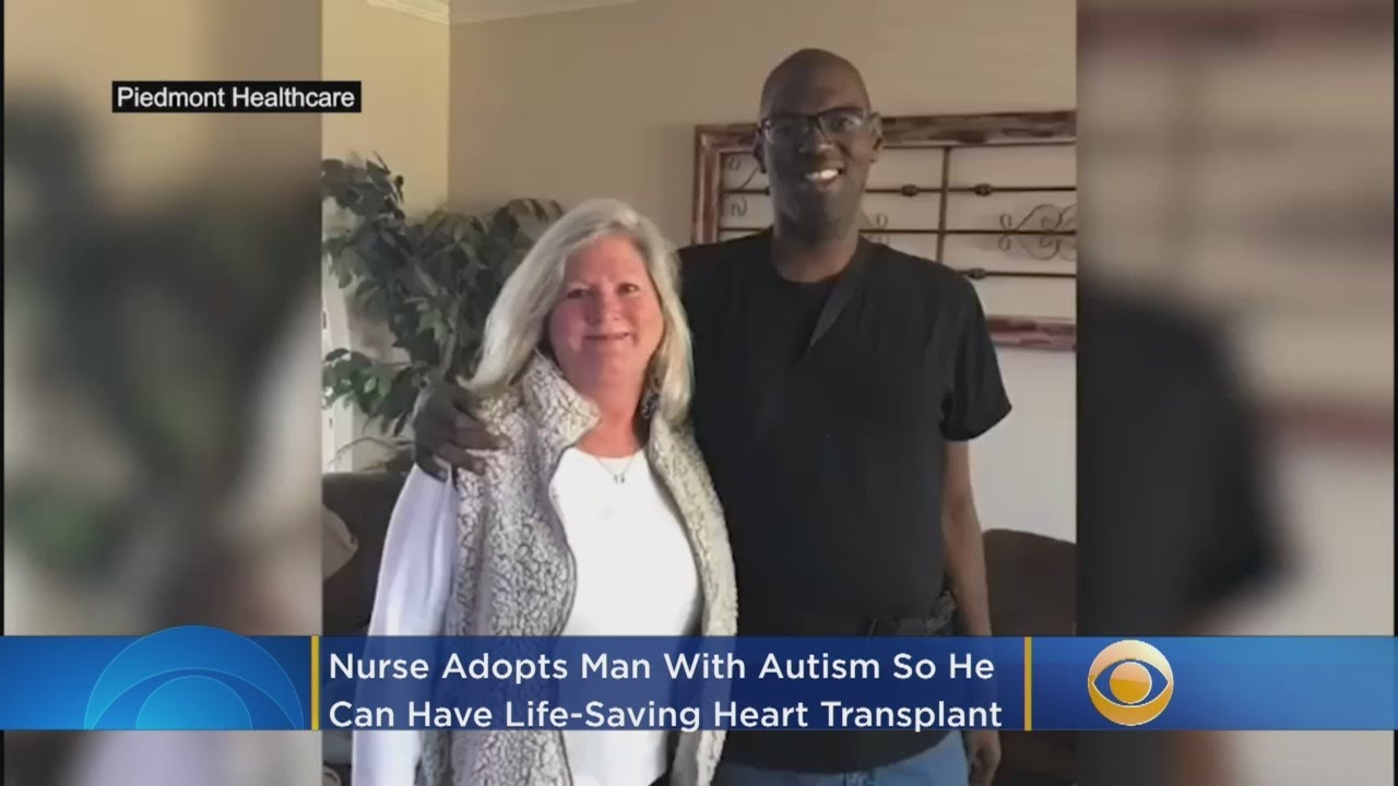 'There Was No Choice': Nurse Adopts Autistic Man So He Can Have Life-Saving Heart Transplant