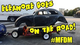 Problems? Eleanore's Road Trip - ROTTEN OLD CHOP TOP 1956 VW BEETLE - 123