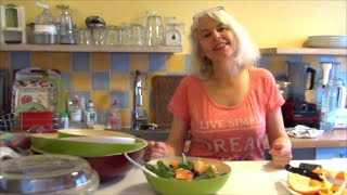 Crudivegan - Houmous de courgettes ou de pois chiches