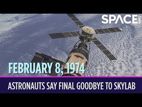 OTD in Space – February 8: NASA Astronauts Say Final Goodbye to Skylab