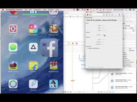 Appium v1 6 0 - How to inspect iOS element using Xcode accessibility  inspector