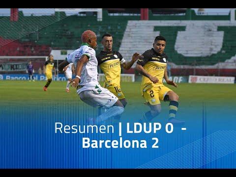 LDU Portoviejo Barcelona SC Goals And Highlights