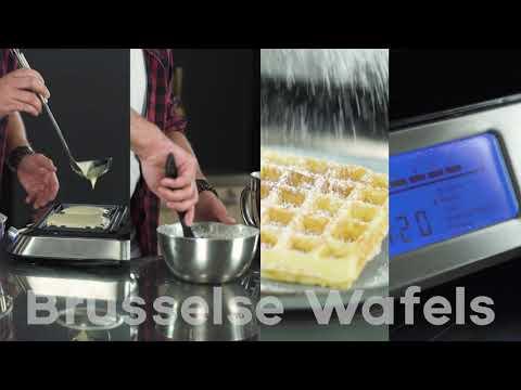 Brusselse wafels receptvideo