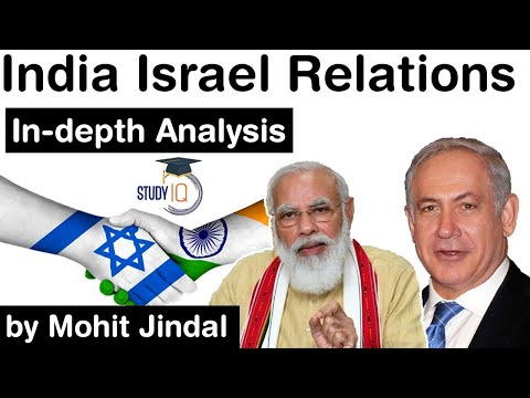 India Israel Relations, Indepth Analysis - Brief Overview Of Israel Palestine Conflict #UPSC #IAS